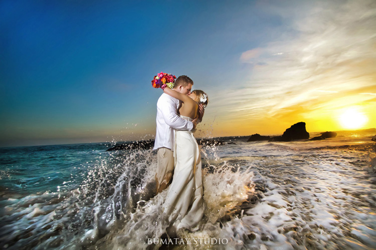 Laguna Beach Orange County Wedding and Elopement Pictures