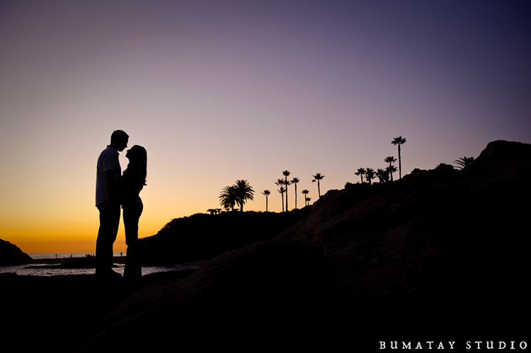 Sony & Brian's engagement at Laguna Beach